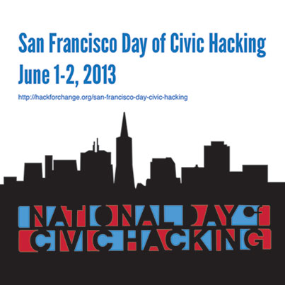 San Francisco Day of Civic Hacking June 1-2, 2013 - National Day of Civic Hacking